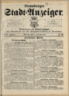 Bromberger Stadt-Anzeiger, J. 22, 1905, nr 13