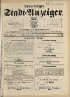 Bromberger Stadt-Anzeiger, J. 22, 1905, nr 14