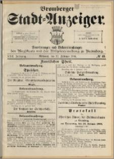 Bromberger Stadt-Anzeiger, J. 22, 1905, nr 15