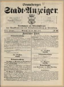Bromberger Stadt-Anzeiger, J. 22, 1905, nr 33