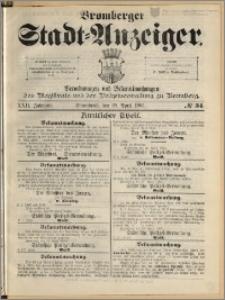 Bromberger Stadt-Anzeiger, J. 22, 1905, nr 34