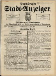 Bromberger Stadt-Anzeiger, J. 22, 1905, nr 45
