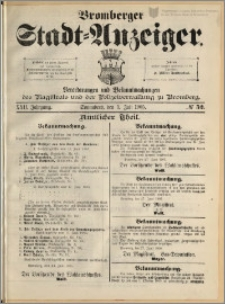 Bromberger Stadt-Anzeiger, J. 22, 1905, nr 52