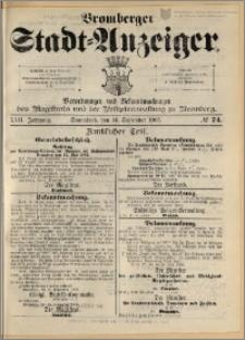 Bromberger Stadt-Anzeiger, J. 22, 1905, nr 74