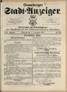 Bromberger Stadt-Anzeiger, J. 22, 1905, nr 77