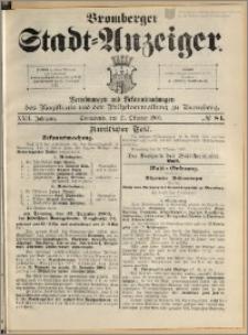 Bromberger Stadt-Anzeiger, J. 22, 1905, nr 84