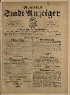 Bromberger Stadt-Anzeiger, J. 24, 1907, nr 22