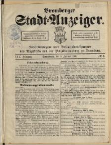 Bromberger Stadt-Anzeiger, J. 25, 1908, nr 1