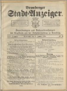 Bromberger Stadt-Anzeiger, J. 25, 1908, nr 5
