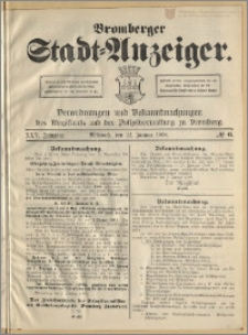 Bromberger Stadt-Anzeiger, J. 25, 1908, nr 6