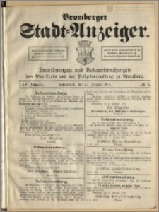 Bromberger Stadt-Anzeiger, J. 25, 1908, nr 7