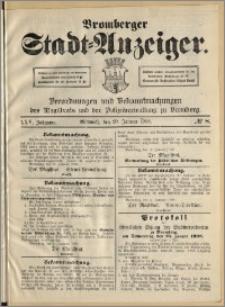 Bromberger Stadt-Anzeiger, J. 25, 1908, nr 8