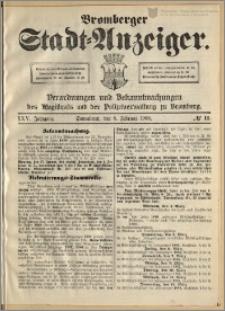 Bromberger Stadt-Anzeiger, J. 25, 1908, nr 11
