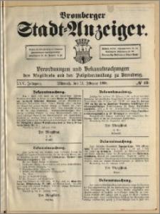 Bromberger Stadt-Anzeiger, J. 25, 1908, nr 12