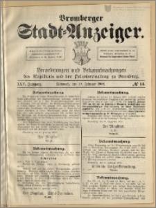 Bromberger Stadt-Anzeiger, J. 25, 1908, nr 14