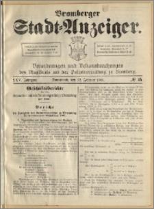 Bromberger Stadt-Anzeiger, J. 25, 1908, nr 15