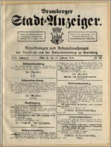 Bromberger Stadt-Anzeiger, J. 25, 1908, nr 16