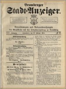 Bromberger Stadt-Anzeiger, J. 25, 1908, nr 17
