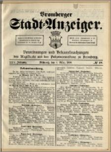 Bromberger Stadt-Anzeiger, J. 25, 1908, nr 18