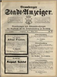 Bromberger Stadt-Anzeiger, J. 25, 1908, nr 19
