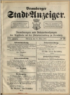 Bromberger Stadt-Anzeiger, J. 25, 1908, nr 22