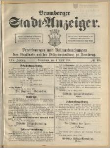 Bromberger Stadt-Anzeiger, J. 25, 1908, nr 27