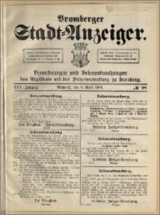 Bromberger Stadt-Anzeiger, J. 25, 1908, nr 28