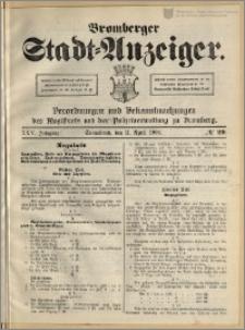 Bromberger Stadt-Anzeiger, J. 25, 1908, nr 29