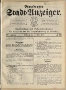 Bromberger Stadt-Anzeiger, J. 25, 1908, nr 30