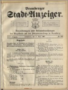 Bromberger Stadt-Anzeiger, J. 25, 1908, nr 33