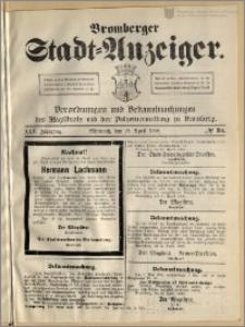 Bromberger Stadt-Anzeiger, J. 25, 1908, nr 34