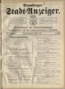 Bromberger Stadt-Anzeiger, J. 25, 1908, nr 38