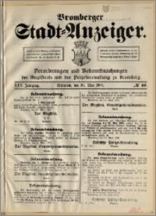 Bromberger Stadt-Anzeiger, J. 25, 1908, nr 40