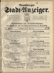 Bromberger Stadt-Anzeiger, J. 25, 1908, nr 42