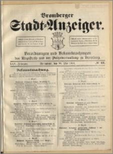 Bromberger Stadt-Anzeiger, J. 25, 1908, nr 43