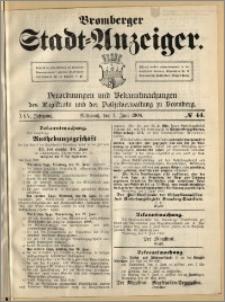 Bromberger Stadt-Anzeiger, J. 25, 1908, nr 44