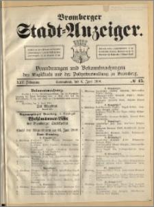Bromberger Stadt-Anzeiger, J. 25, 1908, nr 45