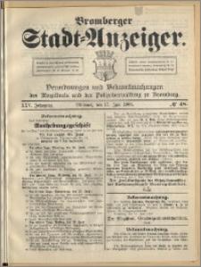 Bromberger Stadt-Anzeiger, J. 25, 1908, nr 48