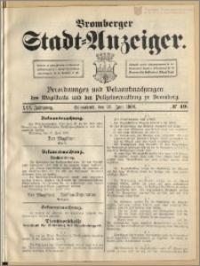 Bromberger Stadt-Anzeiger, J. 25, 1908, nr 49