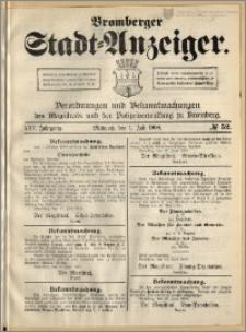 Bromberger Stadt-Anzeiger, J. 25, 1908, nr 52