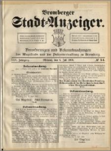 Bromberger Stadt-Anzeiger, J. 25, 1908, nr 54