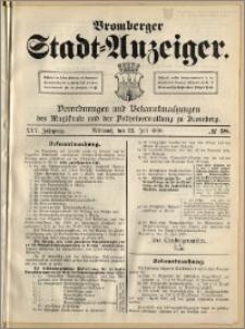 Bromberger Stadt-Anzeiger, J. 25, 1908, nr 58