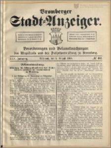 Bromberger Stadt-Anzeiger, J. 25, 1908, nr 62