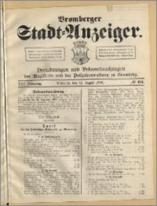 Bromberger Stadt-Anzeiger, J. 25, 1908, nr 64