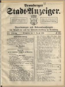 Bromberger Stadt-Anzeiger, J. 25, 1908, nr 65