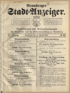 Bromberger Stadt-Anzeiger, J. 25, 1908, nr 67