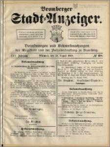 Bromberger Stadt-Anzeiger, J. 25, 1908, nr 68