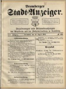 Bromberger Stadt-Anzeiger, J. 25, 1908, nr 69