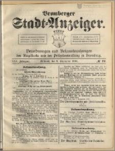 Bromberger Stadt-Anzeiger, J. 25, 1908, nr 72