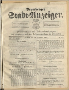 Bromberger Stadt-Anzeiger, J. 25, 1908, nr 74